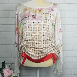 Anthropologie Tiny size Medium women's top blouse